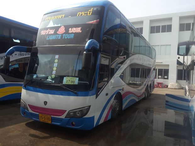 Bangkok to Krabi - Express Bus by Lignite Tour_0