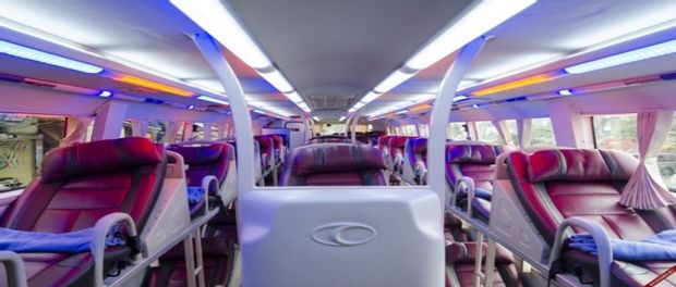 Ninh Binh to Hoi An - Sleeping Bus by Queen Cafe Bus_0