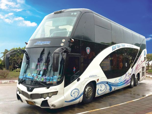 Koh Samui to Ao Nang - High Speed Bus+Ferry by Songserm_0