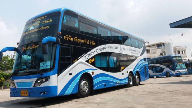Nakhon Si Thammarat to Bangkok - VIP 32 Seats Bus by Sri Suthep_0