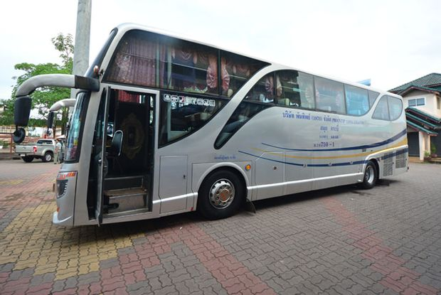 Suratthani to Krabi - Standard Bus by Phantip Travel_0