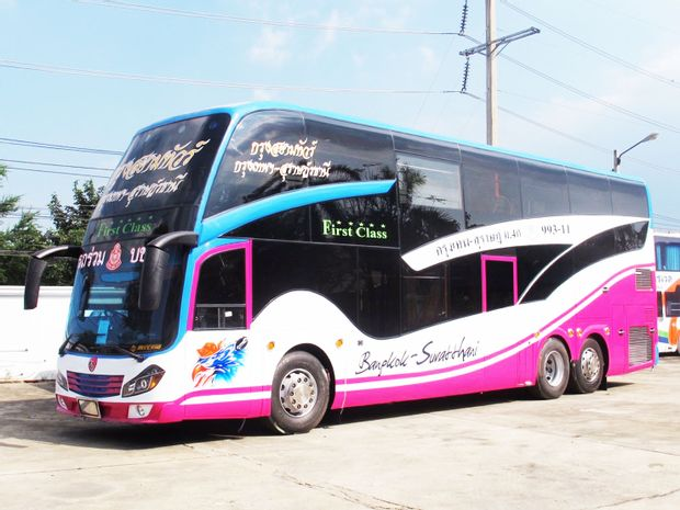 Bangkok to Suratthani - Express Bus by Krungsiam_0