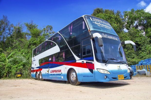 Suratthani to Koh Tao - Standard Bus+Ferry by Lomprayah_0