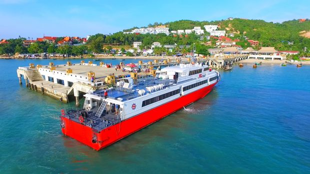 Koh Samui to Don Sak - High Speed Ferry by Seatran Discovery_0
